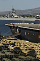 US Navy 100208-N-7498L-028 The 599th Transportation Group and Fleet Industrial Supply Center Pearl Harbor loaded more than 2,400 pieces of equipment. With more than 300 Stryker vehicles, the operation is the largest Stryker mov.jpg
