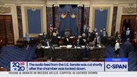 파일:US Senate goes into recess after protestors breach the Capitol.webm