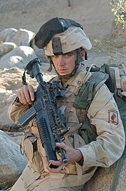 US Soldier from 173rd Airborne Brigade Combat Team in Afghanistan