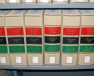 United States Statutes at Large - A few volumes of the Statutes at Large