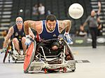US beats Australia in wheelchair rugby semi-finals, 2016 Invictus Games 160511-F-WU507-063.jpg