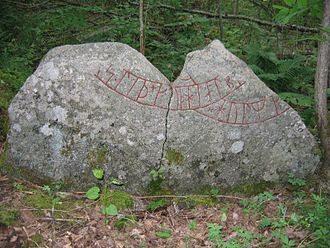 Ingvar runestones - Runestone U 837