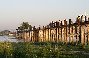 U Bein Bridge - U Bein Bridge, November 2005