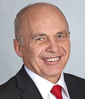 Ueli Maurer accountant, politician and member of the Swiss Federal Council (2009-)