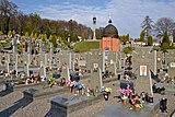 Ukrainian military cemetery at Lychakiv Cemetery 02.jpg