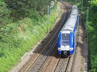 SNCF Class Z 26500 - Image: Un Gières Lyon quittant Échirolles