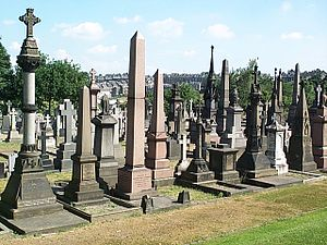 Undercliffe Cemetery - The historic core