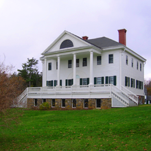 Uniacke House is located in Mount Uniacke Nova Scotia. Part of the Uniacke Estate Museum Park, it is an important tourist attraction in the area.