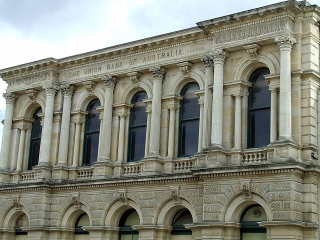 file union bank of australia building oamaru new zealand