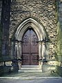 Unitarian Church, Monton, Doorway - geograph.org.uk - 681158.jpg