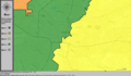 United States Congressional Districts in Mississippi (metro highlight), 1985 – 1992.tif