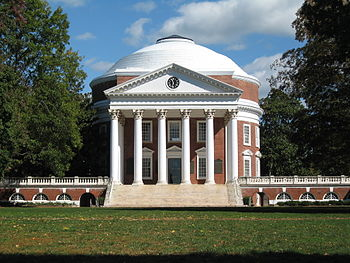 The Rotunda at the University of Virginia. Cha...