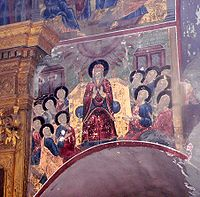 Unknown fresco in Dmitriy Prilsky Church.JPG