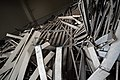 Unused metal scrap thrown away at a public place in a railway station -Chennai -India -DSC0001.jpg
