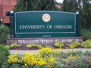 University of Oregon cover