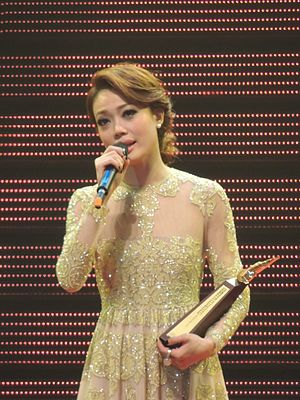 Joey Yung - Yung at the CRHK Ultimate Song Chart Awards Presentation 2013
