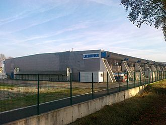 Liebherr Aerospace - A view of the Liebherr Aerospace Toulouse(LTS) premises from outside in 2007