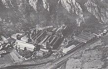 Usines de ND de Briançon en 1960