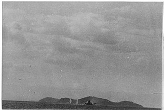 Action of 12 October 1950 - North Korean shore batteries firing on survivors from the USS Pirate