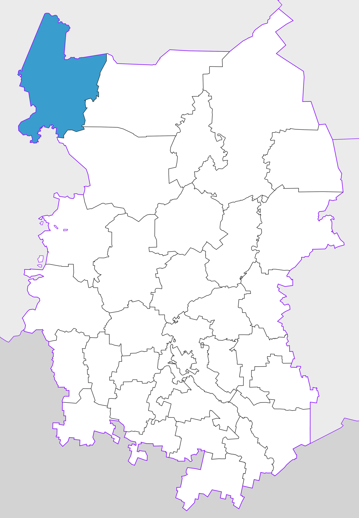 What is the federal district of Omsk, and where is it located 40