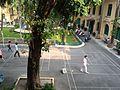Vườn hoa bệnh viện Xanh Pôn nhìn từ nhà B2, Hà Nội 001.JPG
