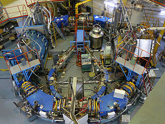 Sovetsky City District, Novosibirsk - VEPP-2000 is an electron-positron collider at Budker Institute of Nuclear Physics