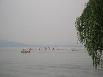 East Lake (Wuhan) - Summer in Liyuan Park