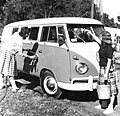 VSers washing bus La Junta CO (24580847461).jpg