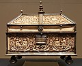 V & A London, ivory casket, Spain, 11th c (3).jpg