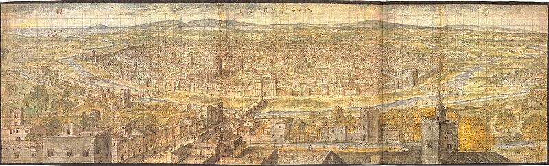 Archivo:València el 1563, per Anton van den Wyngaerde.jpg