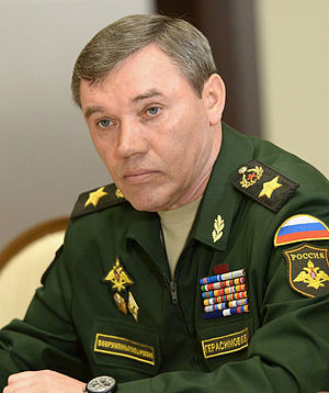 Russian Armed Forces - Chief of the General Staff, General of the Army Valery Gerasimov