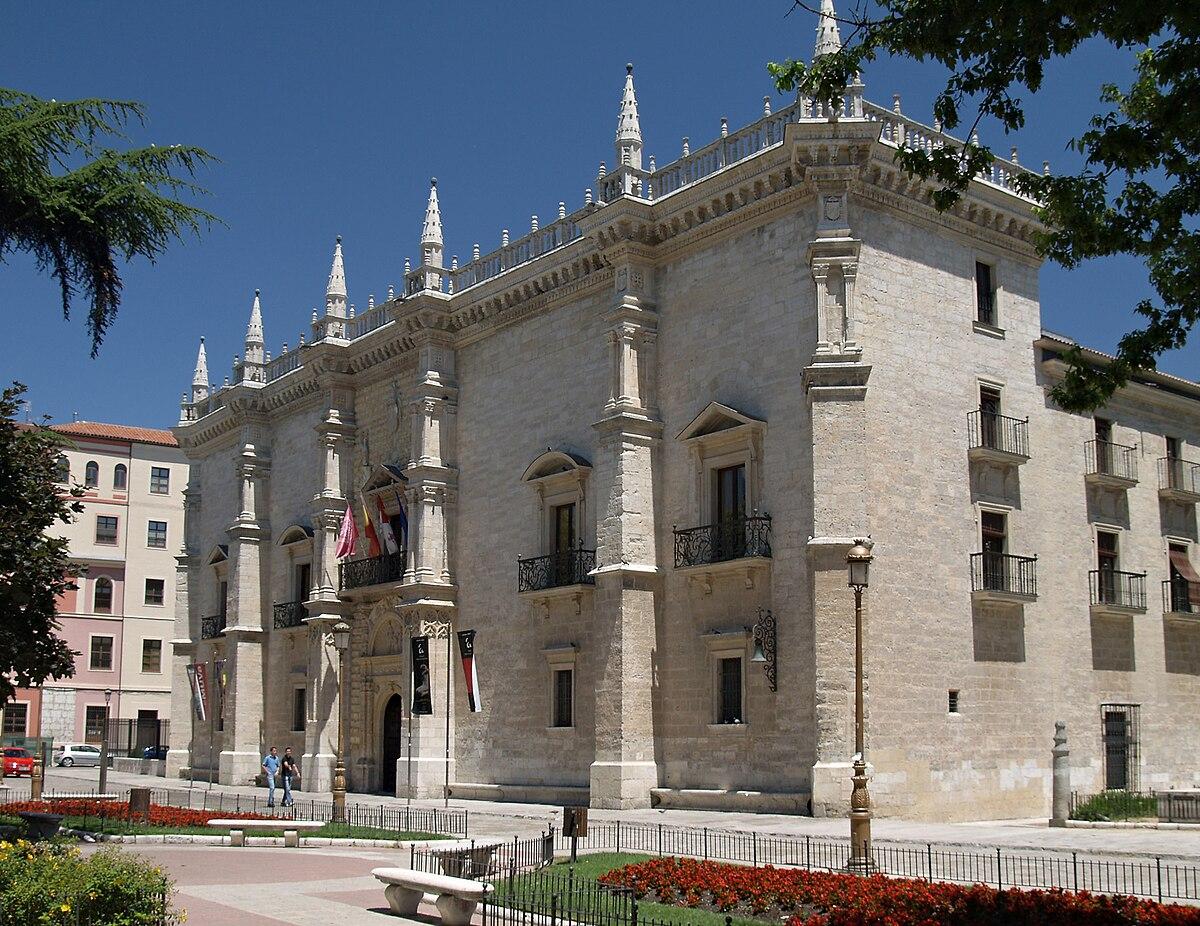 Palacio de Santa Cruz (Valladolid) - Wikipedia, la enciclopedia libre
