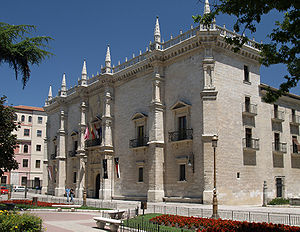 Spanish Renaissance - Santa Cruz Palace (1486-1491) in Valladolid is considered to be the earliest extant building of the Spanish Renaissance.