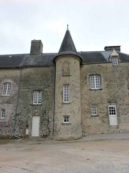 Valognes, Manoir du Haut-Gallion: tourelle