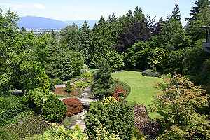 Queen Elizabeth Park, British Columbia - A view of the park