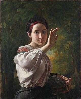 Девушка с Подолья. 1821