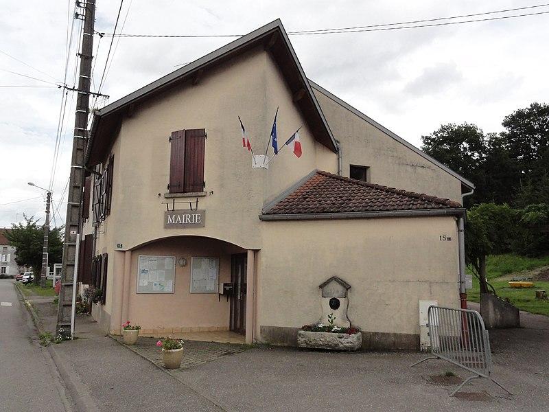Vathiménil (M-et-M) mairie