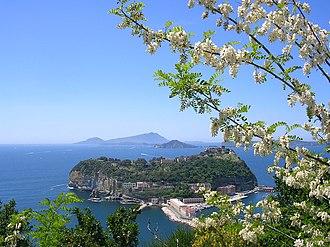Nisida - Isle of Nisida in the Gulf of Naples.