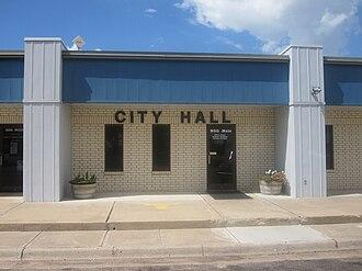 Vega, Texas - City Hall