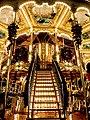 Venetian carousel at Edinburgh Christmas market (geograph 3775648).jpg