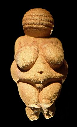 The Venus of Willendorf, c. 30000 years BCE (Wiki)