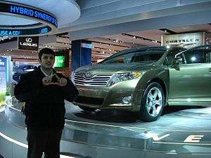 2009 Toyota Venza and Toyota Employee