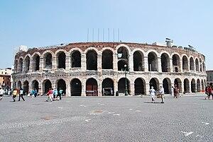 English: verona arena italy 2009