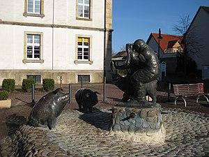"""Versmold - The """"Schweinebrunnen"""""""