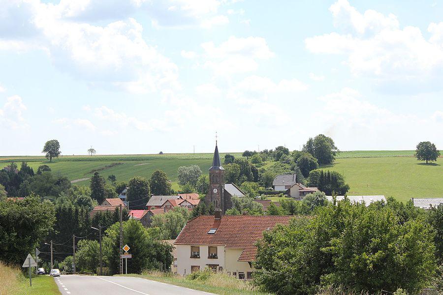 Vescheim, Lorraine, France