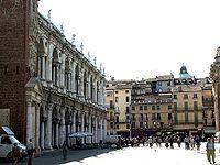 Piazza dei Signori e la Basilica palladiana