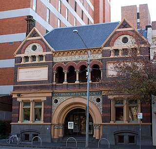 Victorian Artists Society artists collective in Victoria, Australia