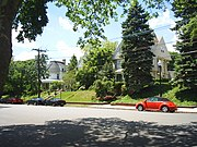 Victorian homes in Perth Amboy, New Jersey