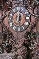 Vienna - Vintage Bavarian wooden Clock - 0562.jpg