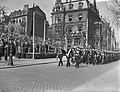 Viering van het 10 jarig bestaan van de NATO in Mainz met een militaire parade,, Bestanddeelnr 910-2737.jpg